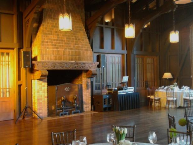 Fairfax Meadow Club Wedding Setup