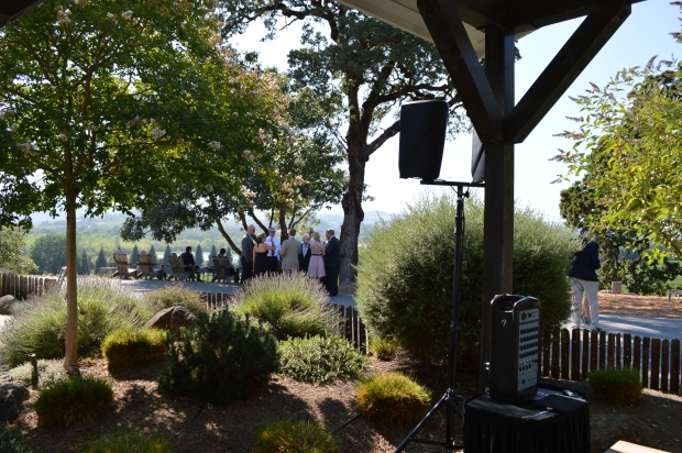 Copain Winery Wedding