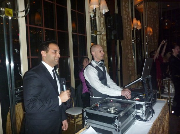 DJ Jeremy Westin St. Francis 2010 Wedding San Francisco