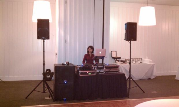 Carneros Inn Napa Wedding Setup Photo 2010