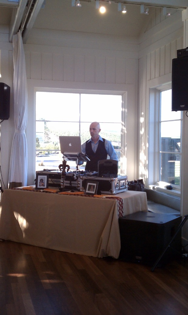 Carneros Inn (Hilltop) Napa Wedding Photo - DJ Jeremy Productions