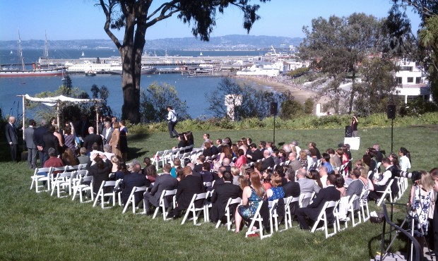 General's Residence One Fort Mason Wedding Photo - DJ Jeremy Productions