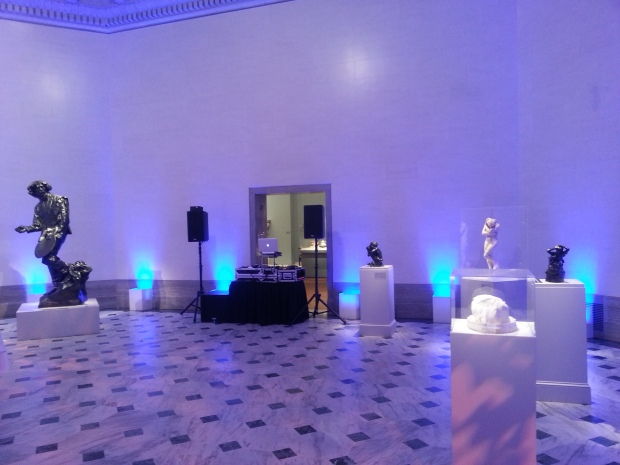 Legion of Honor Gallery 12 Wedding Setup Photo - DJ Jeremy Productions