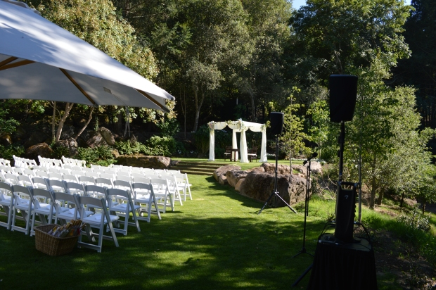 Meadowood Napa wedding ceremony
