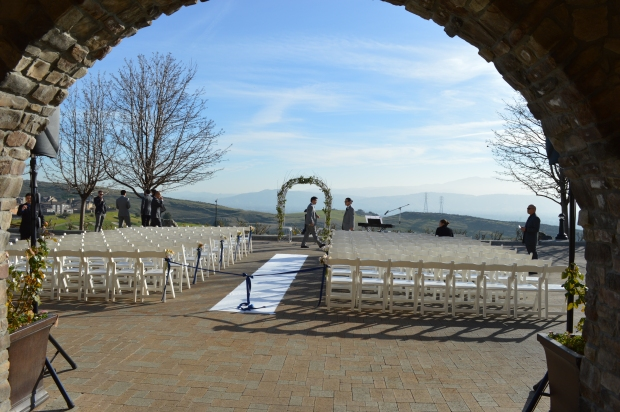 Ranch Golf Club wedding ceremony