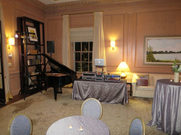 Fairmont Hotel Penthouse DJ Setup