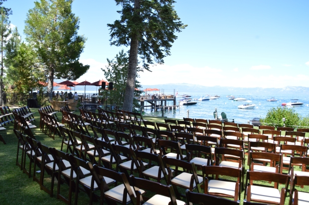 West Shore Cafe wedding ceremony