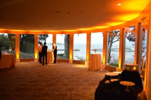 General's Residence Wedding Uplighting - Lounge