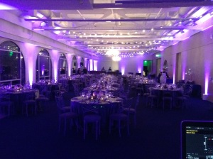 Presidio Observation Post Wedding Uplighting