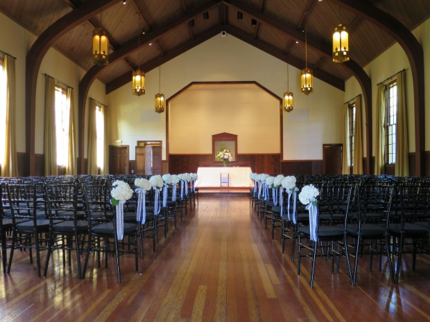 Mission Blue Chapel Wedding